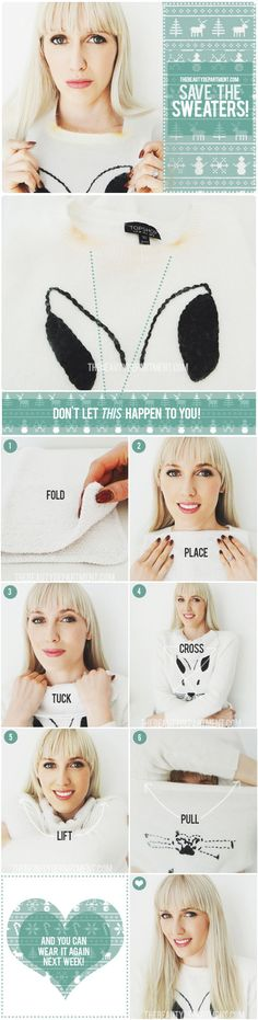 No more makeup on your collar!