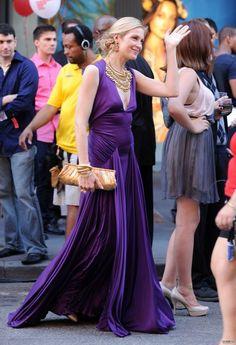#Lily Van der Woodsen in Reem Acra no photoshop