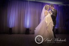 The first dance at Te Papa reception venue. New Zealand wedding photography http://www.paulmichaels.co.nz/ PaulMichaels Wellington photographers.