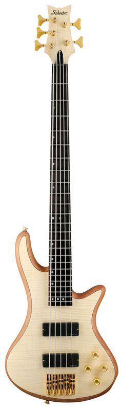 Schecter Stiletto Custom-5 Bass Guitar
