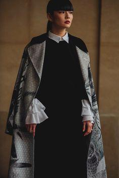 Street Style dalla Paris Fashion Week Autunno Inverno 2018 - Vogue.it