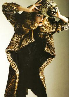 fashion editorial.... Gemma ward