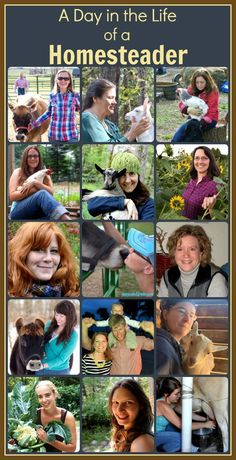 Follow 15 different homesteaders as they share a day from their lives- I can't wait to read through their stories!!