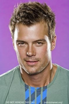 Josh Duhamel - My visual inspiration for Liam Goetz