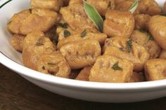 Sweet Potato Gnocchi With Sage Brown Butter
