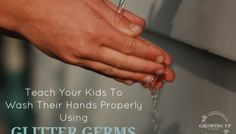 Teach Your Child To Wash Their Hands Properly Using