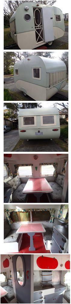 1954 bondwood caravan, 10ft 6ins. New South Wales, Australia | via ebay