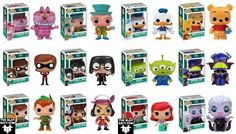 I like these bobble heads too especially mad hatter & green alien