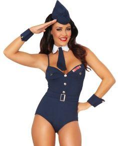 3WISHES 'Aim High Costume' Sexy Air Force Costumes for Women 3WISHES http://www.amazon.com/dp/B0097TX13I/ref=cm_sw_r_pi_dp_pwJiub151MBC9