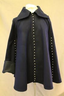 A reproduction of a cassock. Mid Seventeenth Century.