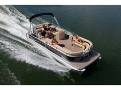 Don't be surprised if you find it difficult to believe the 24 Aurora VP is an entry-level pontoon. Especially knowing that many of the standard features and amenities on the Aurora, are options on other manufacturers mid-range boats. But, challenging perception is part of who we are. And, once you set out in an Aurora for a fun-filled day on the water, you'll see why. Once again, value and quality have a meaning. Manitou Pontoon, Pontoon Boats, Entry Level, Car Detailing, Perception, Aurora, Challenges, Range, Oasis