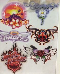 I sell custom handmade clay jewelry for cheap :~))) wink wink Dope Tattoos, Pretty Tattoos, Small Tattoos, Aesthetic Tattoo, Future Tattoos, New Wall, Cybergoth, Wall Collage, Art Inspo