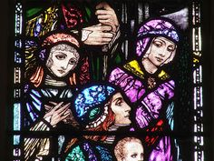 Harry Clarke stained glass.