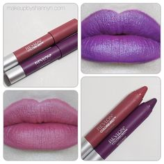 Revlon Colorburst Matte Balm in Sultry and Shameless. IN LOVEEE! MY TWO FAVES!!!!