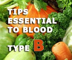Tips essential to blood type B