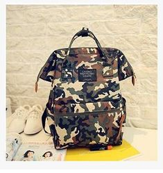 c11d09feaa39 Women Unique Fashion Cotton Canvas Backpack With Carry Handles