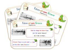 Léon et son Croco Texte comptine répétitive