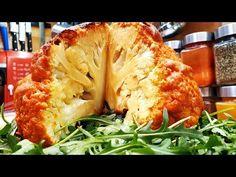 Egészben sült karfiol vegetáriánus nap / Szoky konyhája / - YouTube Nap, Kefir, Cauliflower, Vegan, Vegetables, Cooking, Youtube, Food, Kitchen