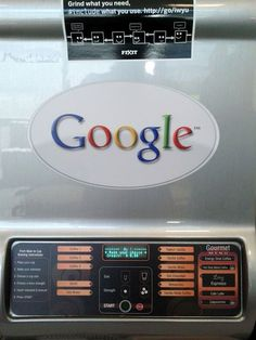 48220400a70 Avinash Kaushik famed web analytics expert posted a picture of his favorite  Google Coffee Machine.