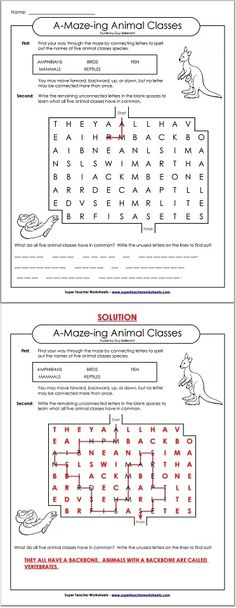Printables Super Teacher Worksheets Science check out this illustration of the water cycle science super solve these word maze puzzles and discover a secret message