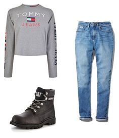 """outfits for school"" by mursitsanna on Polyvore featuring Calvin Klein and Tommy Hilfiger"