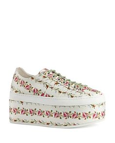 Gucci Peggy Platform Lace Up Sneakers   Bloomingdale's
