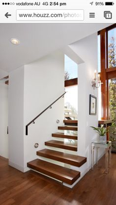 Contemporary Staircase by DesignARC Open Stairs, Modern Interior, Interior Design, Modern Baths, Open Concept Kitchen, Staircase Design, Architecture Plan, Better Homes, House Plans
