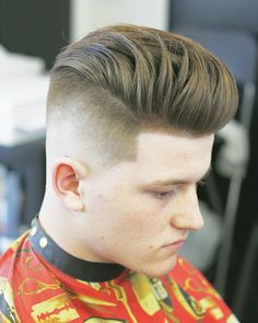 Haircut by onelovebarber http://ift.tt/1qzhDby #menshair #menshairstyles #menshaircuts #hairstylesformen #coolhaircuts #coolhairstyles #haircuts #hairstyles #barbers