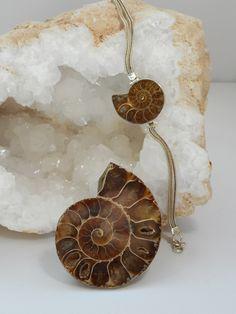 Ammonite Fossil Bracelet 1