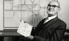 harry beck, designer of the London Underground map.