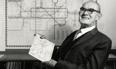 harry beck, designer of the London Underground map.