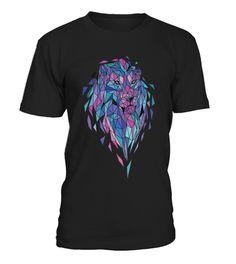 tshirt polygon lion