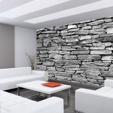 Premium Photo Wall Paper – No. Stone Look Steintapet Premium Fototapete – Nr. Living Room Partition, Living Room Tv Unit Designs, Wall Design, Stone Wall Cladding, Marble Wall Tiles, Brick Living Room, Modern Living Room Interior, Brick Interior, Stone Walls Interior
