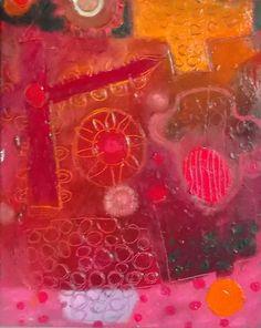 Sole Rosso (Olio su tela 25 x 30 - 2013) di Pier Giuseppe Cavalli ..... Da Paul Klee ho cercato di carpire il colore materico,stratificato, inciso ... https://www.facebook.com/pages/Piergiuseppe-cavalli-colors/219393971534317