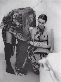 Inspirational Images: Veruschka and Jean Shrimpton