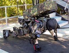 Raytheon XOS 2 Exosquelette « Tuxboard