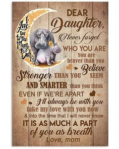 Mother Shirts, Hoodies, Posters, Mugs Mother Daughter Quotes, Birthday Quotes For Daughter, Mother Quotes, Mothers Quotes To Children, 21st Birthday Quotes, Happy Birthday Friend, I Love My Daughter, Son Quotes, Happy Birthday Images