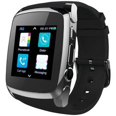 Supersonic SC-64SW Bluetooth(R) Smart Watch with Call Feature