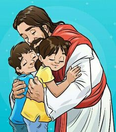 Jesus Loves Me, God Is Good, Sunday School, Jesus Christ, Clip Art, Animation, Anime, Projects, Lds Quotes