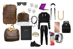 """""""Untitled #60"""" by modie987 ❤ liked on Polyvore featuring FOSSIL, Louis Vuitton, Lija, Topshop, Mura, Auriya, Annello, Ray-Ban, NIKE and Speck"""