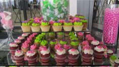 Mesa de Cupcakes.