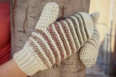It's finally my turn to share my free mitten pattern for The Crochet Mitten Drive Blog Hop! I've been not so patiently waiting! I'm so privileged to be a part of this Crochet Mitt…
