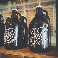 Mission Coffee Co., cold brew growler w/first fill, $25, http://www.yelp.com/biz/mission-coffee-co-columbus?osq=mission+coffee