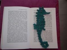 Marque page hippocampe - Le blog de Charline