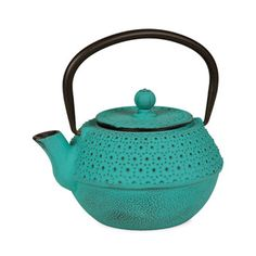 new color inspiration for my boring kitchen? Turquoise Teapot