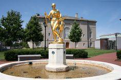 darlington memorial fountain judiciary square washington dc