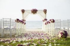 Couples can make themselves stand out by planning a grand entrance.