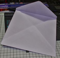 CARD-IOLOGIST etc.....: Making an envelope using we r memory keeper envelope punch board