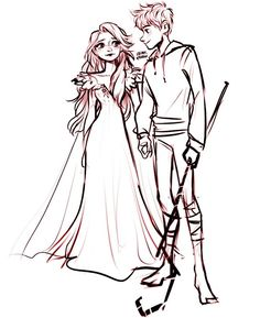 Elsa Y Jack Frost, Jack Frost And Elsa, Frozen Love, Frozen And Tangled, Frozen Drawings, Disney Ships, Disney Princess Movies, Cute Couple Drawings, Sailor Princess