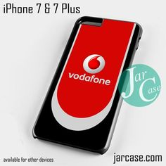 vodafone logo Phone case for iPhone 7 and 7 Plus